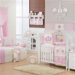 Quarto para Bebê Imperial Rosa Floral