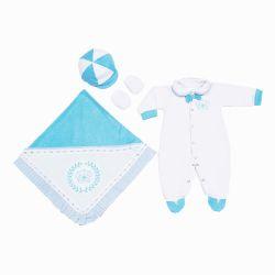 Saída Maternidade Realeza Azul