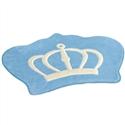 Tapete Big Coroa Real Azul