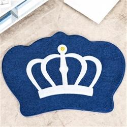 Tapete Big Coroa Real Marinho