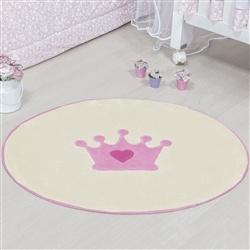 Tapete Baby Coroa Rosa