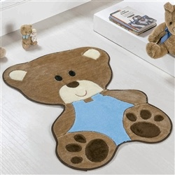 Tapete Baby Urso Bebê Azul