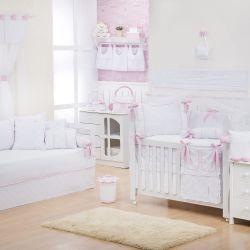 Quarto de Bebê Nervura Rosa
