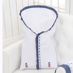 Porta Bebê Luxo Marítimo