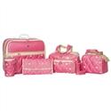 Conjunto de Bolsas Maternidade Master Coronate Pink