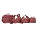 Conjunto de Bolsas Maternidade Pérola Vermelho