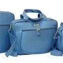 Bolsa Maternidade Basic Azul Mar