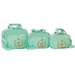 Conjunto de Bolsas Maternidade Light Verde