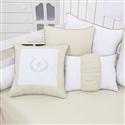 Almofadas Decorativas Versailles Cáqui