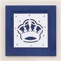 Quadro Decorativo Majestade Real Marinho