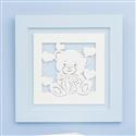 Quadro Decorativo Love Baby Azul
