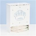 Porta Fraldas Majestade Real Azul