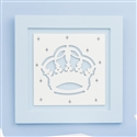 Quadro Decorativo Majestade Real Azul