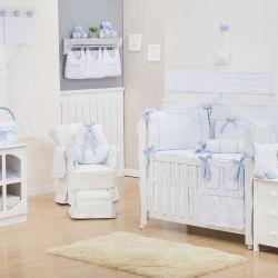Quarto de Bebê Nervura Azul
