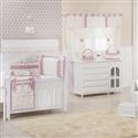 Quarto para Bebê sem Cama Babá Glamour Floral Rosê
