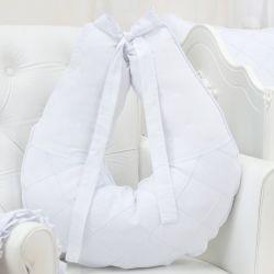 Almofada Amamentação Nervura Branco
