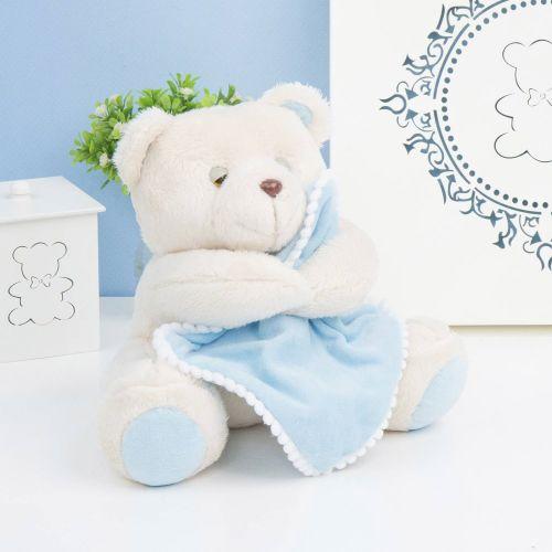 Urso Soninho Azul 20cm