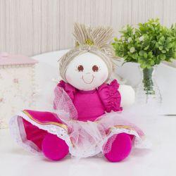 Lembrancinha Maternidade Bonequinha Princesa Sofia Pink