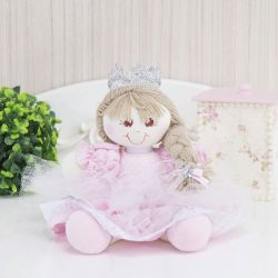 Lembrancinha Maternidade Princesa Nina Rosa Poá
