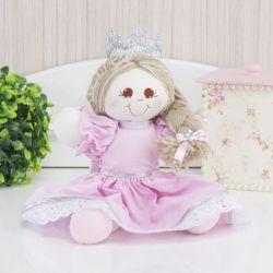 Lembrancinha Maternidade Bonequinha Princesa Cristal