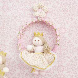 Porta Maternidade Princesa Levine
