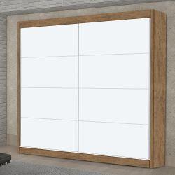 Guarda-Roupa Premium Plus Amêndoa 1800 2 Portas e 3 Gavetas