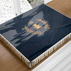 Trocador de Fraldas Realeza Marinho Premium