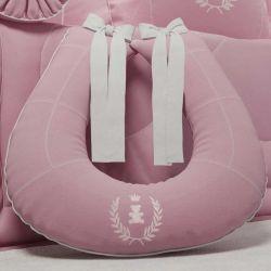 Almofada Amamentação Realeza Rosa Premium