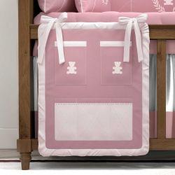 Porta Treco Realeza Rosa Premium