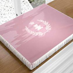 Trocador de Fraldas Realeza Rosa Premium
