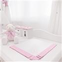 Manta Piquet Realeza Rosa Premium