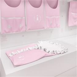 Porta Bebê Realeza Rosa Premium