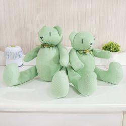 Ursos Verde Poá Laços