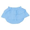 Short Saia Azul 3 a 6 Meses