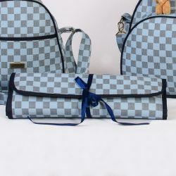Trocador de Fraldas Portátil Paris Azul