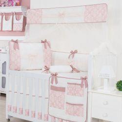 Kit Berço Nobless Rosé