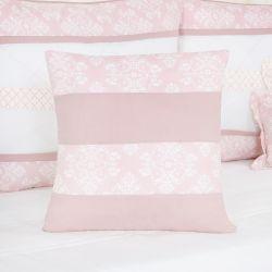 Almofada Quadrada Nobless Rosé