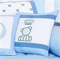 Almofada Decorativa Urso Real Classic Azul