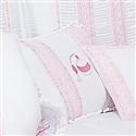 Almofada Decorativa Bordada Perfume Imperial Rosa