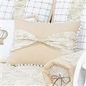 Almofada Decorativa Laço Ninos Palha