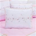 Almofada Decorativa Bordada Branca Valentina