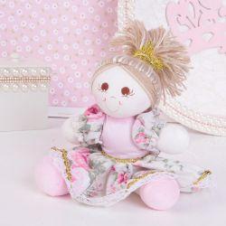 Lembrancinha Maternidade Bonequinha Princesa Primavera