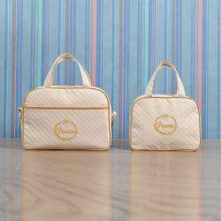 Conjunto de Bolsas Princesa Marfim