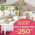 Kit Berço Floresta + Berço Mila