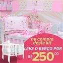 Kit Berço Menina Bailarina + Berço Mila