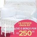 Kit Berço Lorenza Branco + Berço Mila