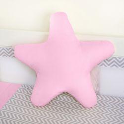 Almofada Estrela Rosa 30cm
