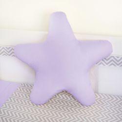 Almofada Estrela Lilás