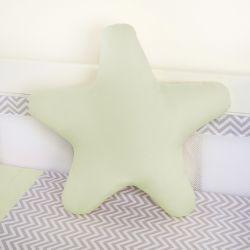Almofada Estrela Verde
