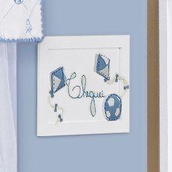 Porta Maternidade Cheguei Doce Infância Azul